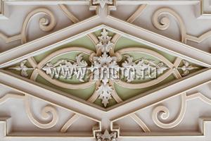 Реставрация исторического лепного декора старых зданий (пример)
