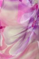 Палантин из натурального шелка «Сияющая фуксия» (батик, ручная роспись)