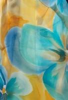 Палантин из натурального шелка «Тенерифе» (батик, ручная роспись)