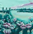 Платки из натурального шелка (цветовая гамма)
