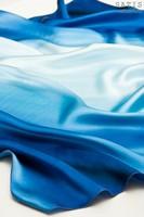 Эксклюзивный платок батик «Морской бриз» (шелк, ручная работа)