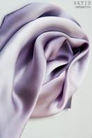Эксклюзивный платок батик «Лиловый» (шелк, ручная работа)