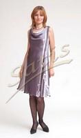 Платье из натурального шелка «Кремона» (батик, ручная роспись)
