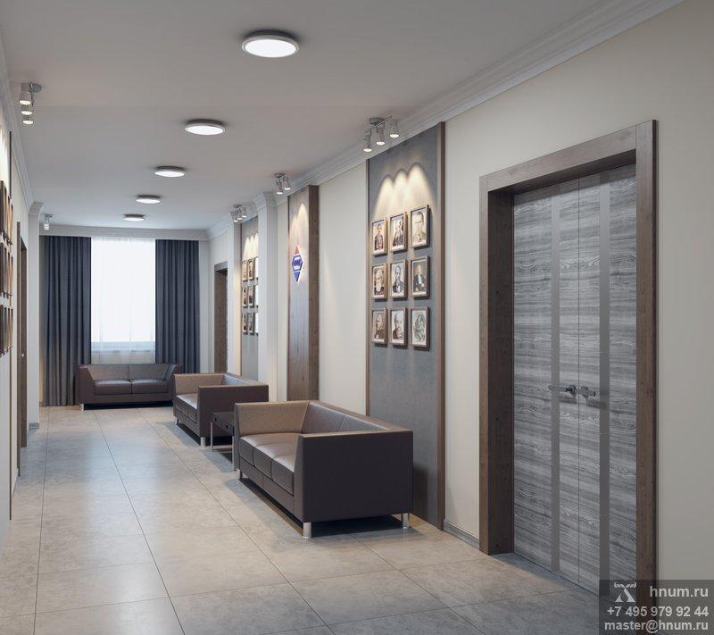 Дизайн-проекта конференц-зала Магаданского Областного Онкологического Диспансера - дизайн студия ХНУМ