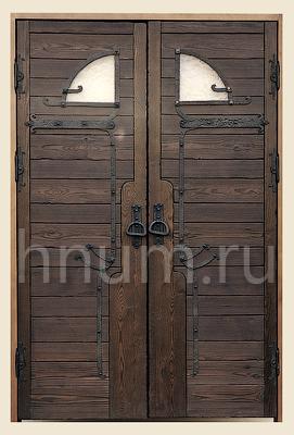 Двухстворчатая дверь своими руками
