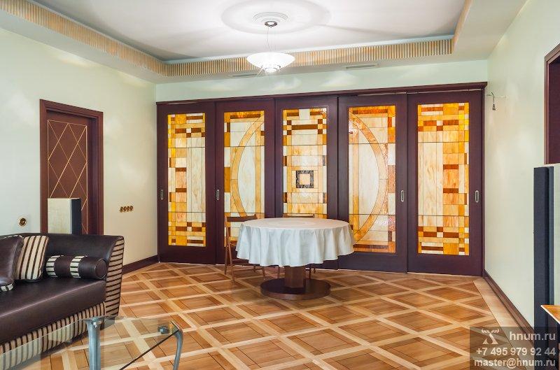 Лепнина в стиле современного ар-деко в квартире - на заказ - лепная мастерская БМ ХНУМ