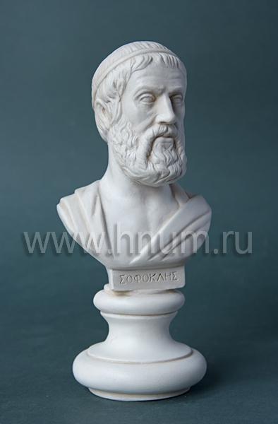Софокл (декоративная гипсовая скульптура, коллекция: Античная скульптура / Скульптура Древней Греции)