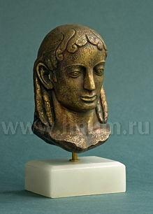 Декоративная гипсовая скульптура АПОЛЛОН архаика - Коллекция: Античная скульптура (скульптура Древней Греции)