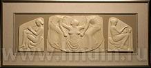 Декоративная скульптура из гипса РОЖДЕНИЕ АФРОДИТЫ - Коллекция: Античная скульптура (скульптура Древней Греции)