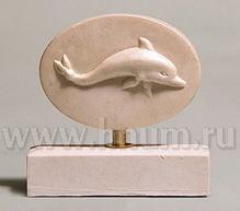Декоративная скульптура из гипса ДЕЛЬФИН - Коллекция: Античная скульптура (скульптура Древней Греции)