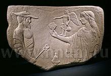 Декоративная гипсовая скульптура ГЕРМЕС И АФРОДИТА - Коллекция: Античная скульптура (скульптура Древнего Рима)