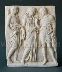 Декоративная гипсовая скульптура ОРФЕЙ, ЭВРИДИКА И ГЕРМЕС - Коллекция: Античная скульптура (скульптура Древней Греции)
