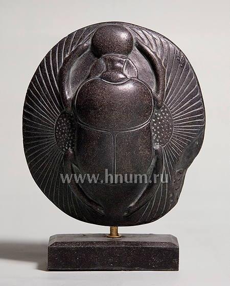 Купить Скарабей с крыльями на подставке - Коллекция Древний Египет