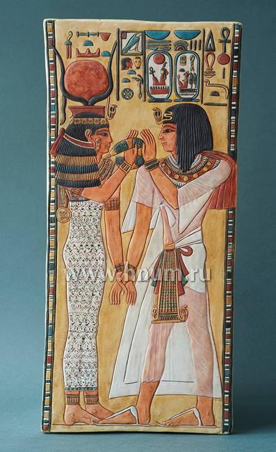 Декоративная гипсовая скульптура Сети 1 фараон - Коллекция: Скульптура Древнего Египта