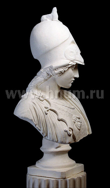 Интерьерная скульптура АФИНА ДЖУСТИНИАНИ бюст - купить в интернет магазине интерьерной скульптуры ХНУМ