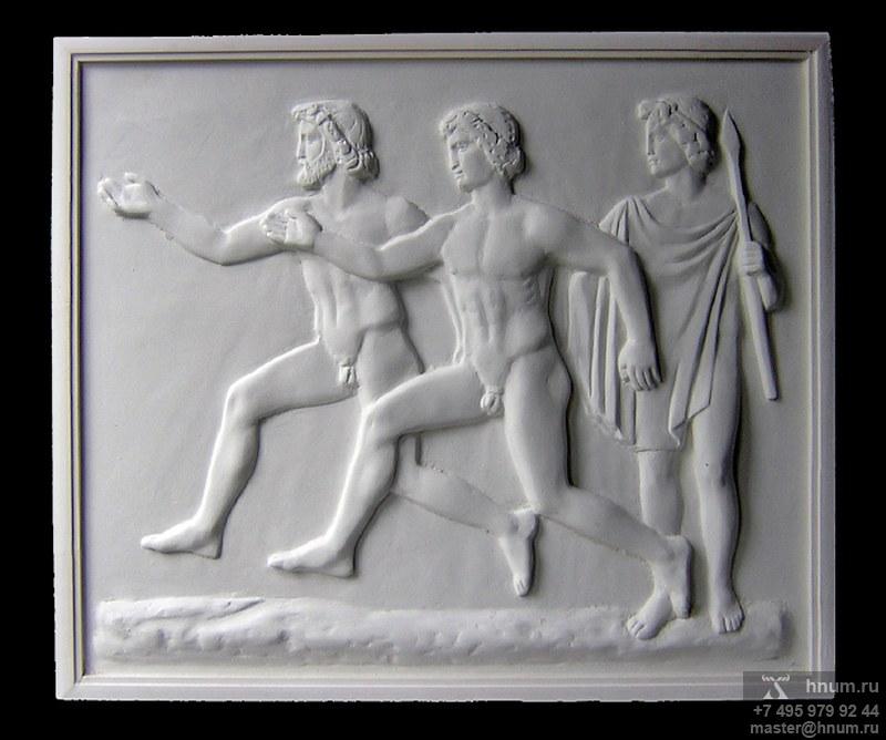 Интерьерная скульптура ОЛИМПИЙСКИЕ ИГРЫ. СОСТЯЗАНИЕ В БЕГЕ