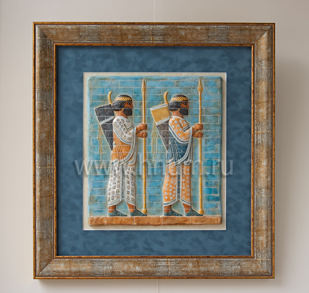 Лучники из древней Месопотамии - оформление в багет