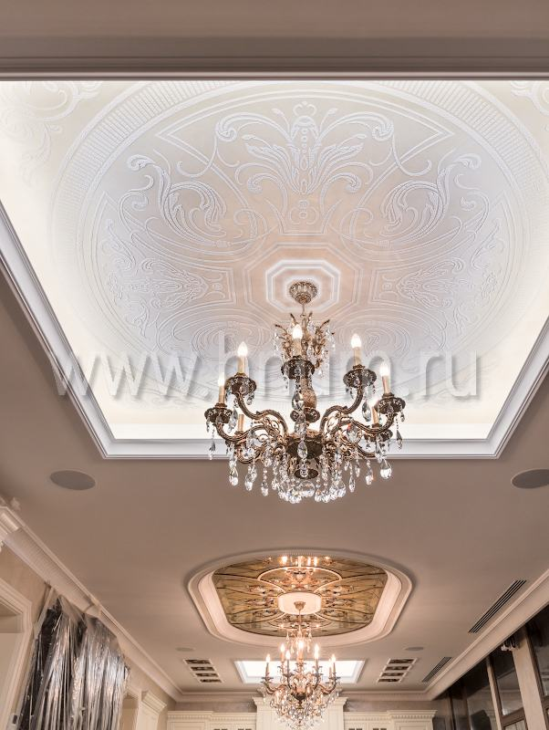 Декоративные штукатурки на потолок - на заказ - художественная мастерская БМ ХНУМ