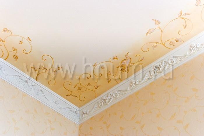 Художественная роспись потолка в детской в квартире - на заказ - художественная мастерская ХНУМ