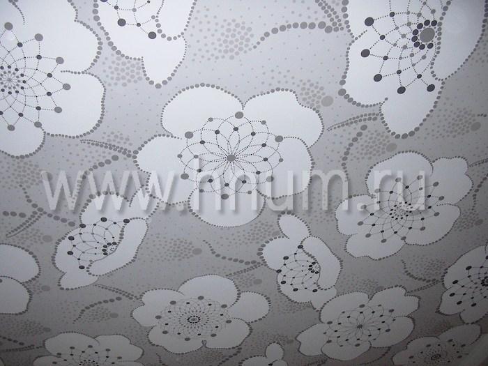 Художественная трафаретная роспись потолка в детской в квартире - на заказ - художественная мастерская ХНУМ