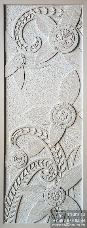 Панно в спальню в загородном доме в стиле Ар-Деко - художественная мастерская ХНУМ