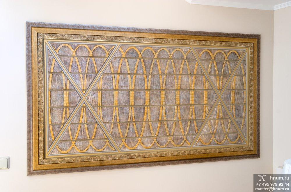 Декоративные рельефные панно в стиле геометрического ар-деко - рельефные панно на заказ - художественная мастерская БМ ХНУМ