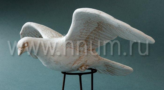 Скульптурные изображения голубей для оформления частного интерьера - работы на заказ - художественная мастерская БМ ХНУМ
