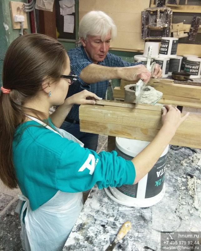 Курсы лепщиков-модельщиков скульптурного производства - лепная мастерская ХНУМ