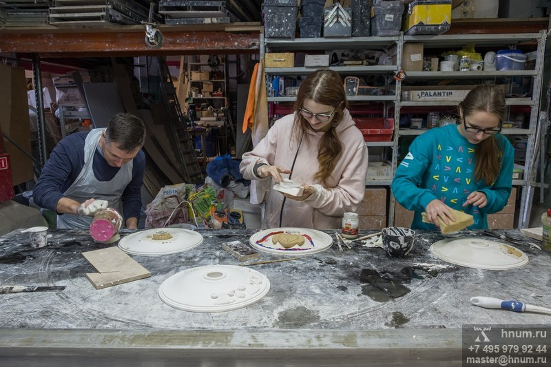 Курсы лепщиков-модельщиков скульптурного производства - мастерские и студии ХНУМ