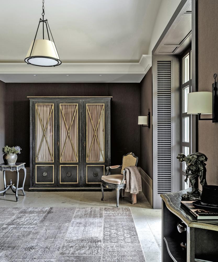 Лепной декор индивидуального дизайна в интерьерах большого загородного дома - лепная мастерская ХНУМ