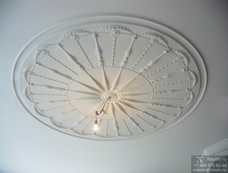 Эксклюзивная дизайнерская лепнина в загородном доме - на заказ - лепная мастерская БМ ХНУМ