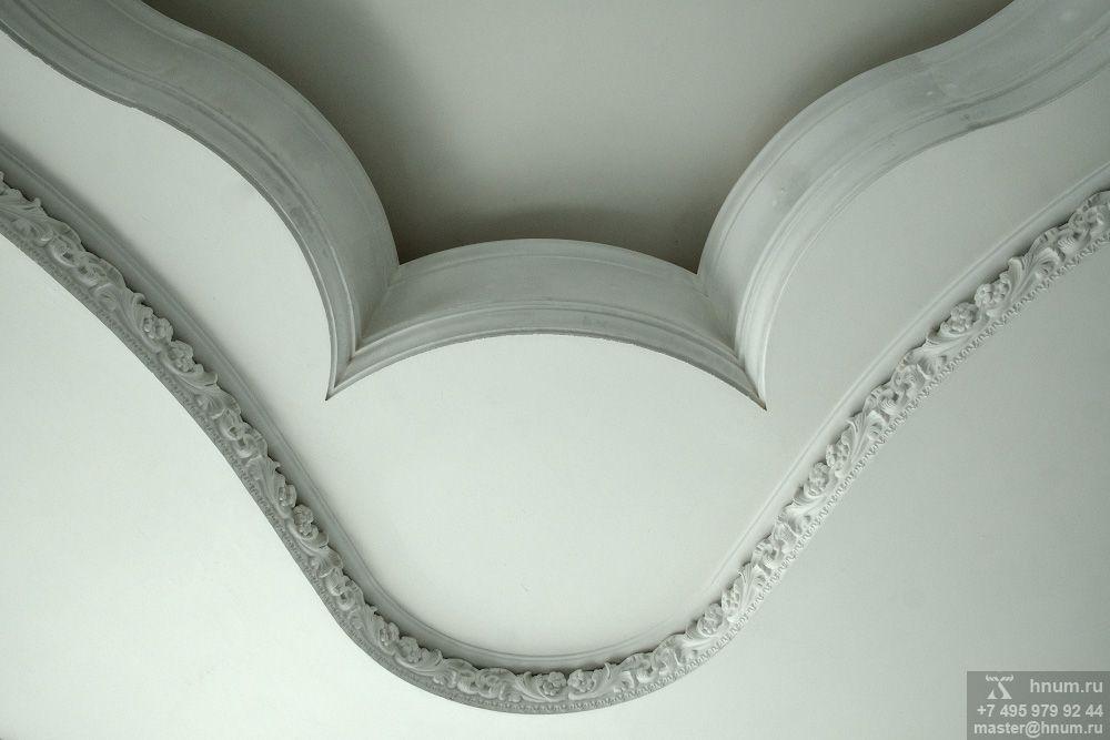 Эксклюзивная лепнина в классическом и восточном стилях в квартире на заказ - лепная мастерская ХНУМ