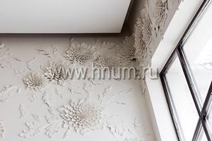 Ручная лепка эксклюзивных декоративных лепных элементов в частном многоуровневом таунхаусе