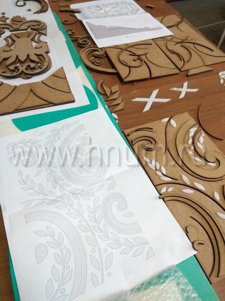 Процесс создания эксклюзивного лепного декора на заказ для оформления квартиры в Москве, Часть 1 - на заказ - лепная мастерская БМ ХНУМ