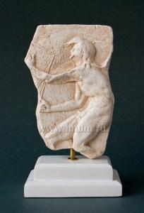 Кайрос - бог удачи - скульптурный рельеф в подарок на Новый Год и Рождество - купить в интернет магазине БМ ХНУМ