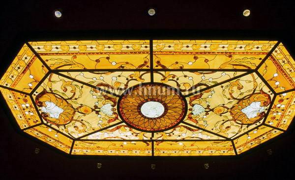 Роспись на потолках плафоны