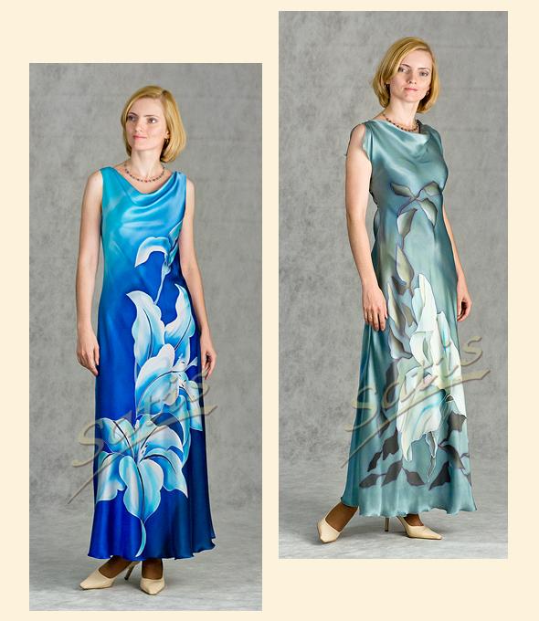 Как сшить платье для полных из шелка фото 343