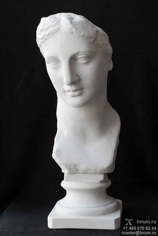 Голова богини (бюст) - интерьерная скульптура - купить в интернет магазине скульптуры ХНУМ