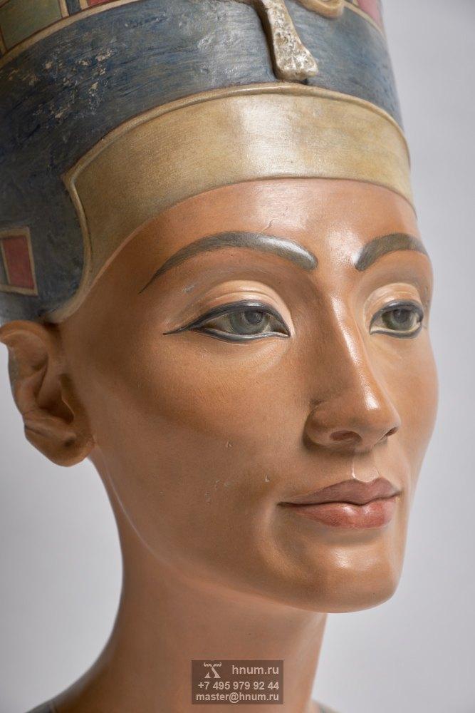 Нефертити - скульптурный бюст репродукция - Древний Египет - Коллекция интерьерной скульптуры Хнум