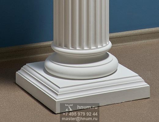 Скульптура Венеры Милосской на декоративной ионической колонне - на заказ - скульптурная мастерская ХНУМ