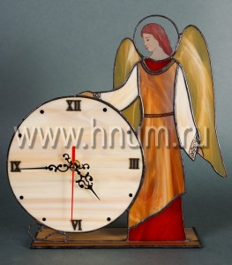 Витражные Часы - коллекция часов из витражей / Витражная мастерская БМ ХНУМ - Витражи-подарки