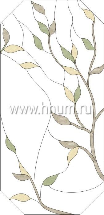 Витражные ниши и панно тиффани - изготовление на заказ -эскиз 4