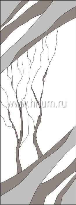 Витражные ниши и панно тиффани - изготовление на заказ -эскиз 11