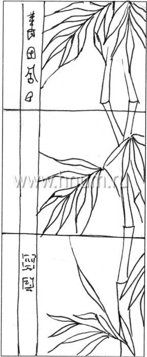 Витражные ниши и панно тиффани - изготовление на заказ -эскиз 21