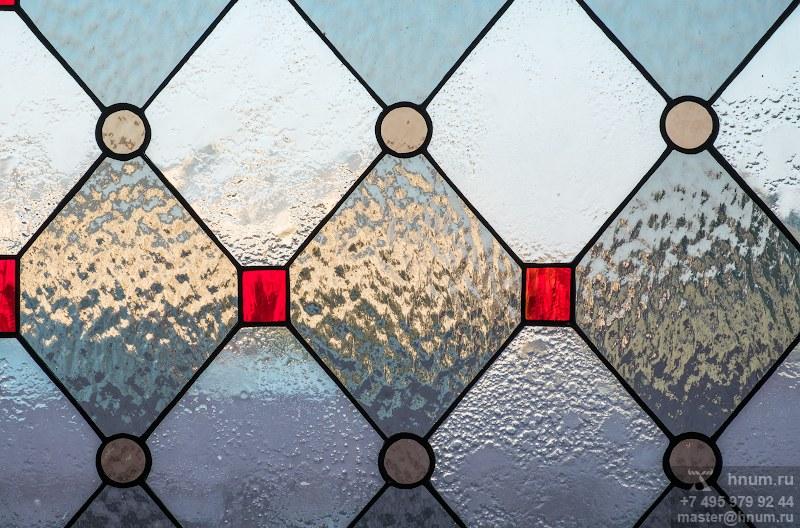 Витражные окна на террасу в загородном доме - на заказ - витражная мастерская ХНУМ