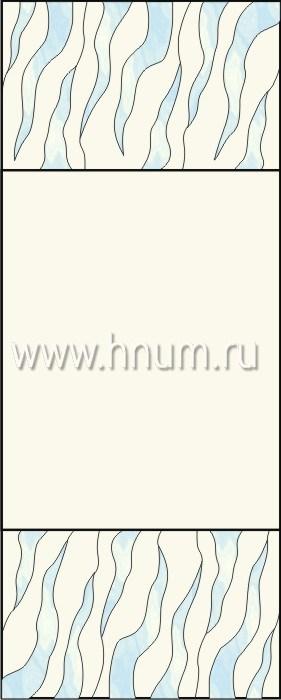 Витражные окна тиффани - изготовление на заказ -эскиз 7