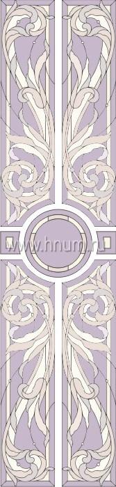 Витражные окна тиффани - изготовление на заказ - эскиз 8