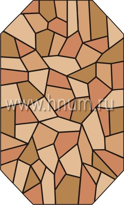 Витражные окна тиффани - изготовление на заказ -эскиз 15