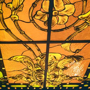 Витражные потолки в классическом стиле - изготовление на заказ - витражная мастерская ХНУМ