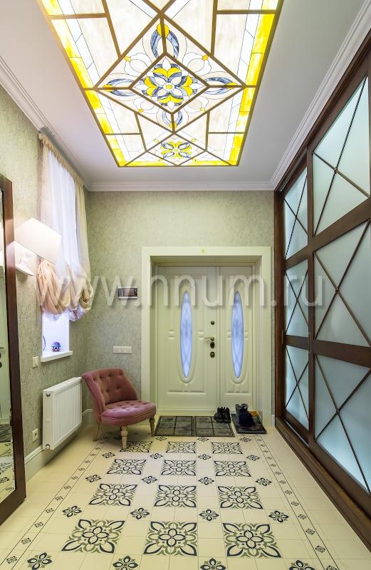 Плоские витражные потолки - на заказ - витражная мастерская ХНУМ